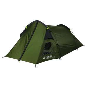 EUROHIKE Backpacker DLX 2 Man Tent £28 plus £3.99 delivery - Blacks