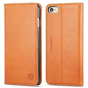 iPhone 6S Plus Case,Cowhide Leather, SHIELDON [Lifetime Warranty] £9.99 (Prime) / £13.98 (non Prime) Sold by TBC CuteEdison® and Fulfilled by Amazon