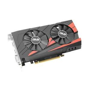 ASUS Expedition GeForce GTX 1050 OC edition eSports gaming graphics card 2GB GDDR5 at Amazon for £98.99 (free Rocket League download)