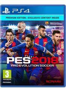PES 2018 - Premium Edition (PS4) / Xbox One - £34.84 @ Base