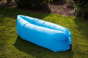 Chillout lounger - BLUE or GREEN - £12.99 - Free Delivery - ebuyer
