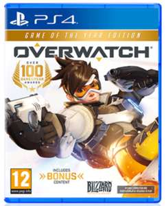 Overwatch GOTY edition (PS4/XB1) £29.85 @ simplygames