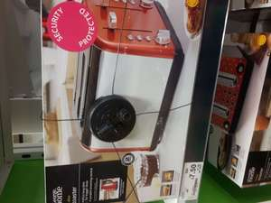 Red 4 slice toaster £7.50 asda clapham