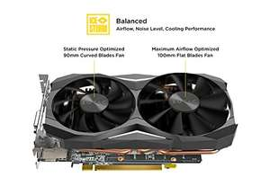 Zotac NVIDIA GeForce GTX 1080 8 GB Mini Graphics Card - Black £472.98 - Amazon