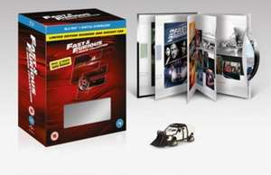 Fast and Furious 1-7 + Bonus Disc Boxset (Limited Edition Digibook + Car) [Blu-Ray] zoom £18 w/code