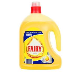 Fairy Professional Lemon Washing Up Liquid 2.5L £1 + £4.95 delivery = £5.95 total cost @ PoundShop