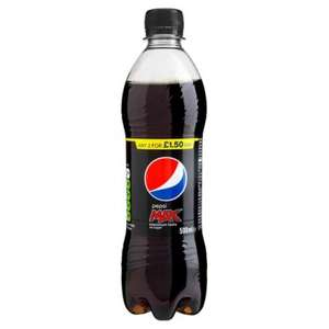 3 x 500ml Pepsi max bottles for £1.00 @ Heron Foods - Bridgend