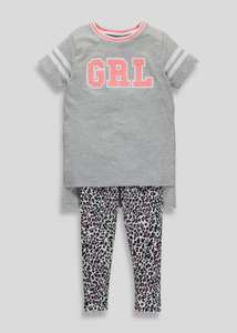 matalan girls 3-13yrs tshirt & leggin set £4.00- £4.50 matalan sale started online