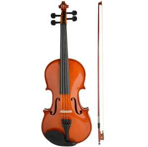 Solid Maplewood 4/4 Violin & Full Accessories - £39.99 (£43.98 delivered) @ This Is It