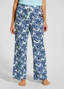 matalan womens leaf print pyjamas bottoms £3.00 down from £7, matalan sale has started online today