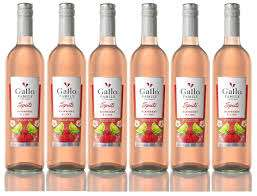 Gallo Family Vineyards Raspberry and Lime Spritz Wine, 75cl (case of 6)  £2 a bottle - £12 Sold by Kool Wines and Fulfilled by Amazon Pantry - Prime Customers only