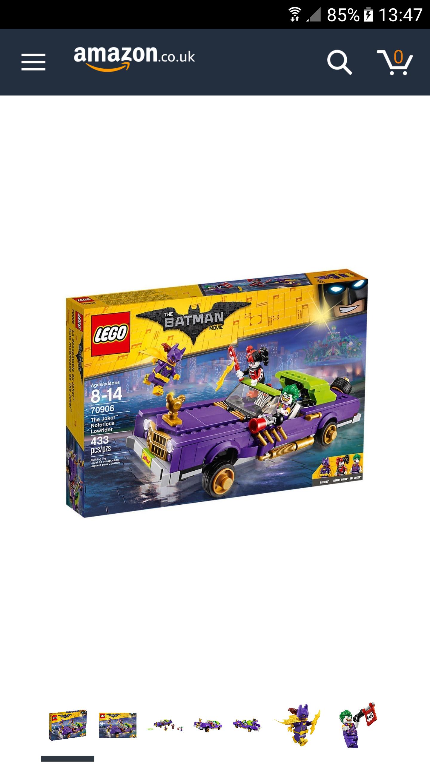 LEGO Batman The Joker Notorious Lowrider £32.99 @ Amazon