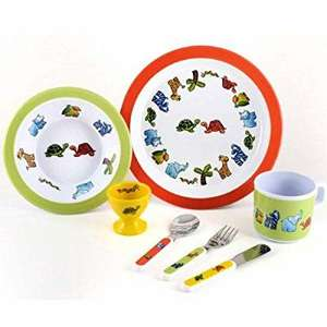 7 Piece Melamine Set Jungle Friends £11.99 prime or £15.98 non prime Sold by The Mutt's Nuts and Fulfilled by Amazon