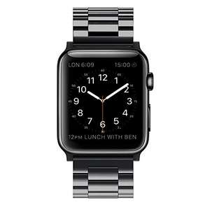 Simpeak Stainless Steel Band Strap for Apple Watch 42mm Series 1 Series 2 Black £13.89 prime / £17.88 non prime Sold by Simpeak.U Store and Fulfilled by Amazon
