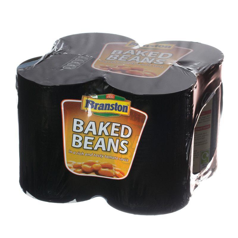 Branston Baked Beans 4 pack £1.25 ASDA