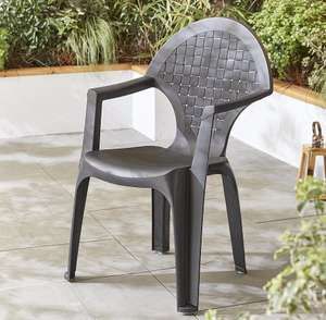 Dark grey resin garden seat was £10.00 now only 25p!!!!!!!!!! Instore! @ Tesco - Coatbridge
