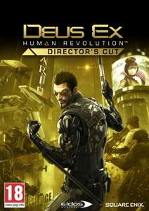 Deus Ex: Human Revolution Directors Cut £2.59 on Steam via Amazon
