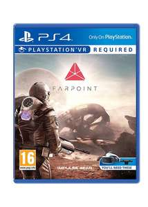 Farpoint PS4 (PSVR) solus was £49.99 now £17.85 @ Base (Other psvr deals in post)