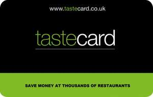 New tastecard £3 for the first three months followed by an annual subscription of £34.99 (usually £79.99) + cashback​ (£3.67) + bonus £5 via Topcashback