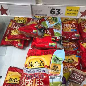 McCain Quick cook French fries reduced to clear 63p @ Tesco - Hodge Hill Birmingham