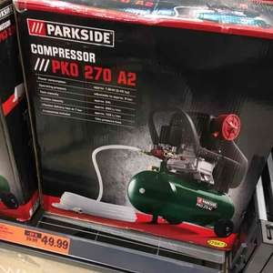 Lidl 24L air compressor now £49.99 & toolsets from £5.99 Instore