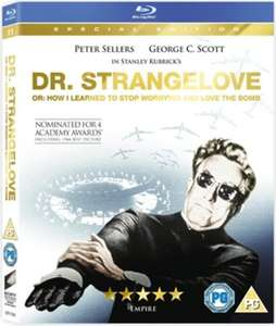 Dr. Strangelove or: How I Learned to Stop Worrying and Love the Bomb (1964) used Blu-ray £3.19 @ musicmagpie
