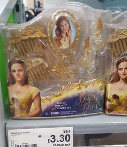 Beauty and the Beast Belle's dress up accessory set £3.30 in Asda Glenrothes