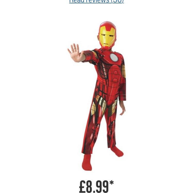 Argos iron man costume 5-6 - £8.99 @ Argos (C&C)