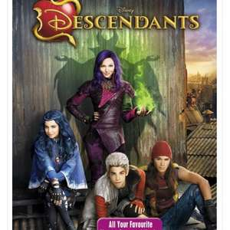 Disney descendants DVD - £2.99 @ Zoom