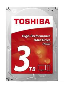 Toshiba P300 3TB 3.5'' SATA High-Performance Hard Drive (OEM) £70.98 @Ebuyer