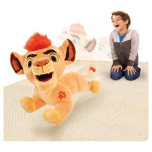 Lion Guard Leap 'n' Roar Plush for £19.99 with free delivery at Argos on EBay
