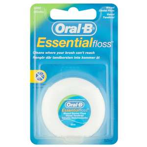 Oral-B 50m dental floss 79p @ Home Bargains