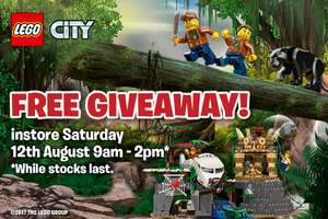 Free Lego @ Smyths Toys 12/08/17 9am to 2pm