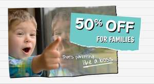 50% Off upto 8 Adult Rail Tickets when travelling with at least one child on Virgin East Coast (with code on selected journeys)