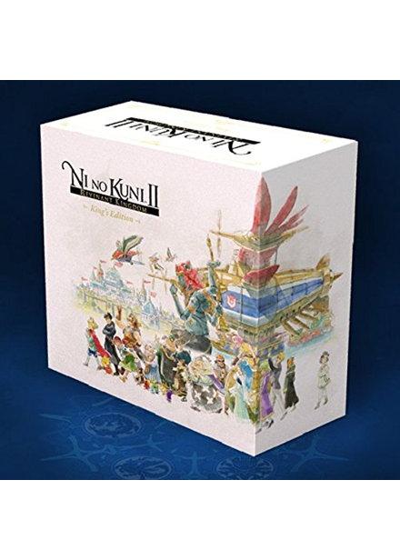 Pre-Order Ni No Kuni II: Revenant Kingdom: King's Edition + Special Swords Set DLC (PC) £134.95 @ Base.com