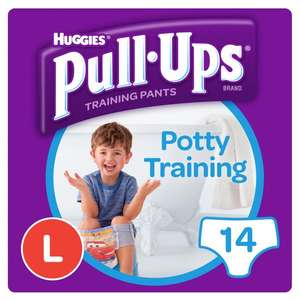 Free! Huggies Pull Ups Toilet Training Pants - with Printable Voucher @ Morrisons