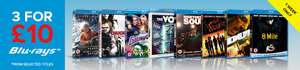 3 Blu-rays for £10 Del @ Zoom