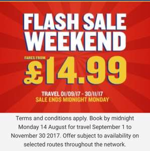 Cheap Ryanair Flights (some under £14.99) in Weekend Flash Sale