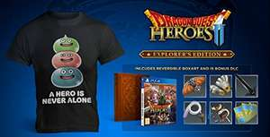 Dragon Quest Heroes II + T-Shirt (PS4) £17.99 (Prime) £19.98 (Non-Prime) Delivered @ Amazon