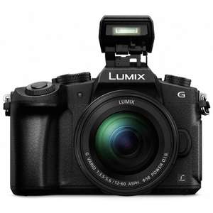 Panasonic G80 Digital Camera black + 12-60mm Lens £699 with cashback - £699 @ Park Cameras