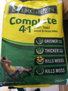 Compete 4in1 lawn feed - £2.99 instore @ Asda (Swindon)