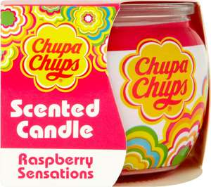 Chupa Chups Sleeve Candle Raspberry Sensations or Juicy Watermelon ONLY £1.00 @ Tesco