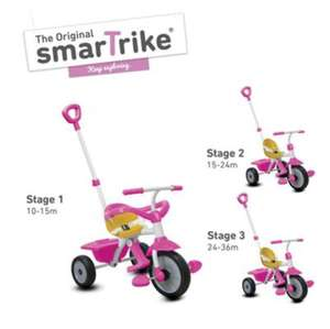 Smart trike play pink or blue Tesco in store £15