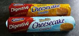 McVitie's Digestives Lemon Cheesecake Creams (168g) was £1.25 now 50p (Rollback Deal) @ Asda