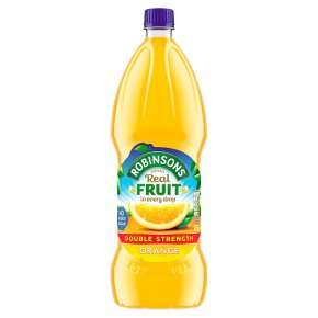 Double Strenth Robinsons No Added Sugar Fruit Squashes (1.75L) was £3.00 now £1.50 (Rollback Deal)  @ Asda