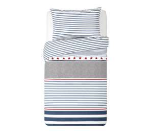Twin pack toddler bedding sets - stripes £5 @ Argos
