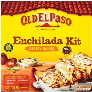Old El Paso Cheese Baked Enchilada Kit (663g) was £3.18 now £2.00 (Rollback Deal) @ Asda