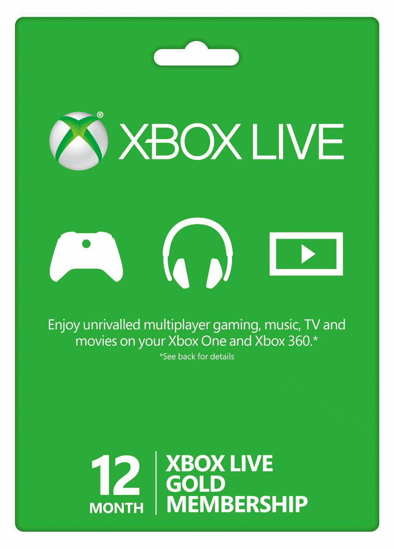 12 MONTHS XBOX LIVE £33.96 @ ebuyer