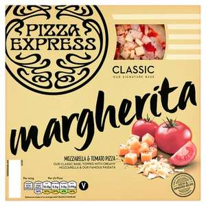 Pizza Express pizzas (Margherita, American, Pollo Ad Astra, etc.) for £2.25 down from £4.50 @ Tesco