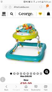 Bright start walker £15 instore - asda Corrington